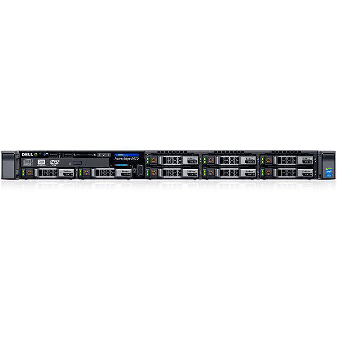 "Сервер Dell PowerEdge R630 2.5"" Rack 1U, 210-ACXS-48"