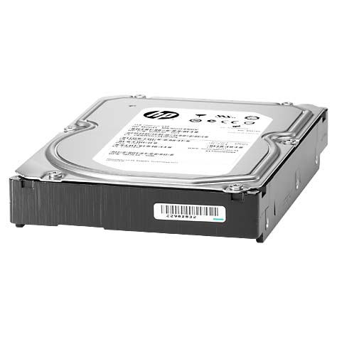 "Картинка - 1 Диск HDD HP Enterprise ProLiant Standard SATA III (6Gb/s) 3.5"" 2TB, 801884-B21"