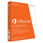 Картинка Подписка Microsoft Office 365 Home Premium Single 32bit/64bit FPP 12 мес., 6GQ-00232