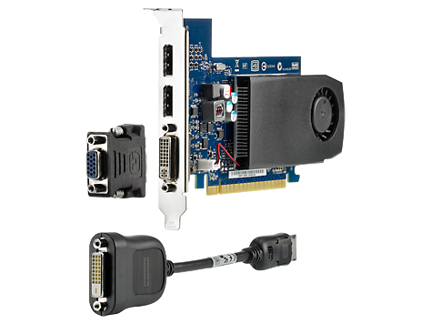 Видеокарта HP nVidia GeForce GT 630 DDR3 2GB, B4J92AA
