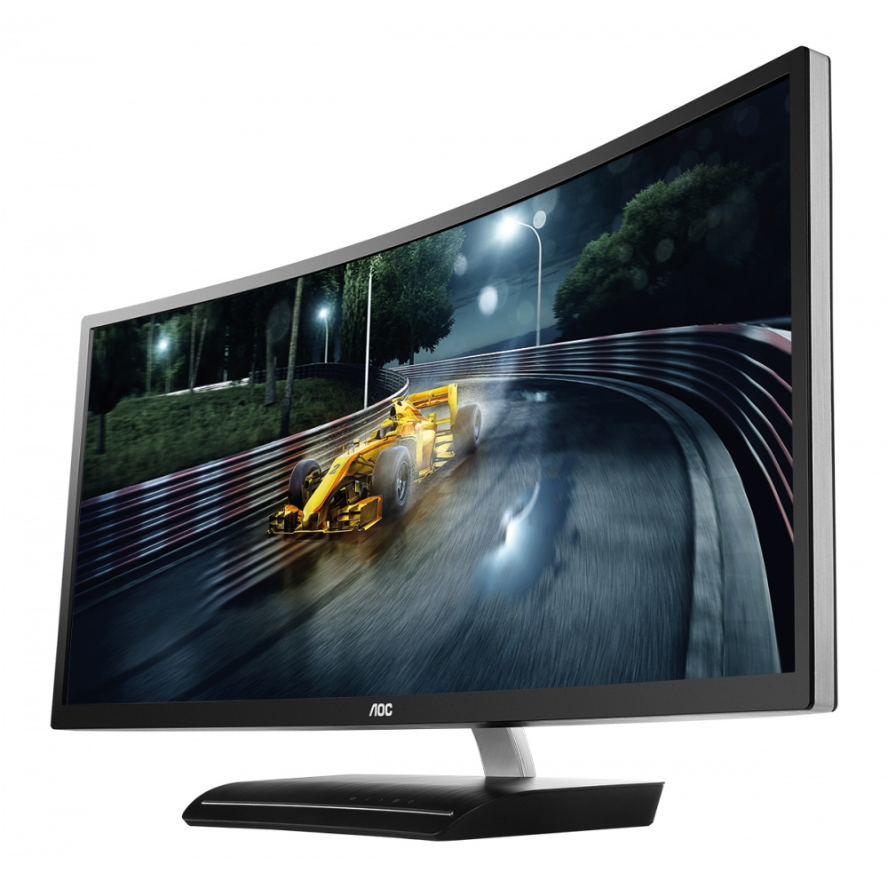 "Монитор AOC C3583FQ 35"" LED MVA Серебристый, C3583FQ"
