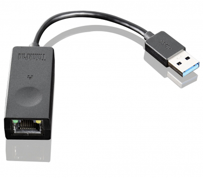 Переходник Lenovo USB Type A (Male) -> RJ-45 (Female) 0.1м, 4X90E51405
