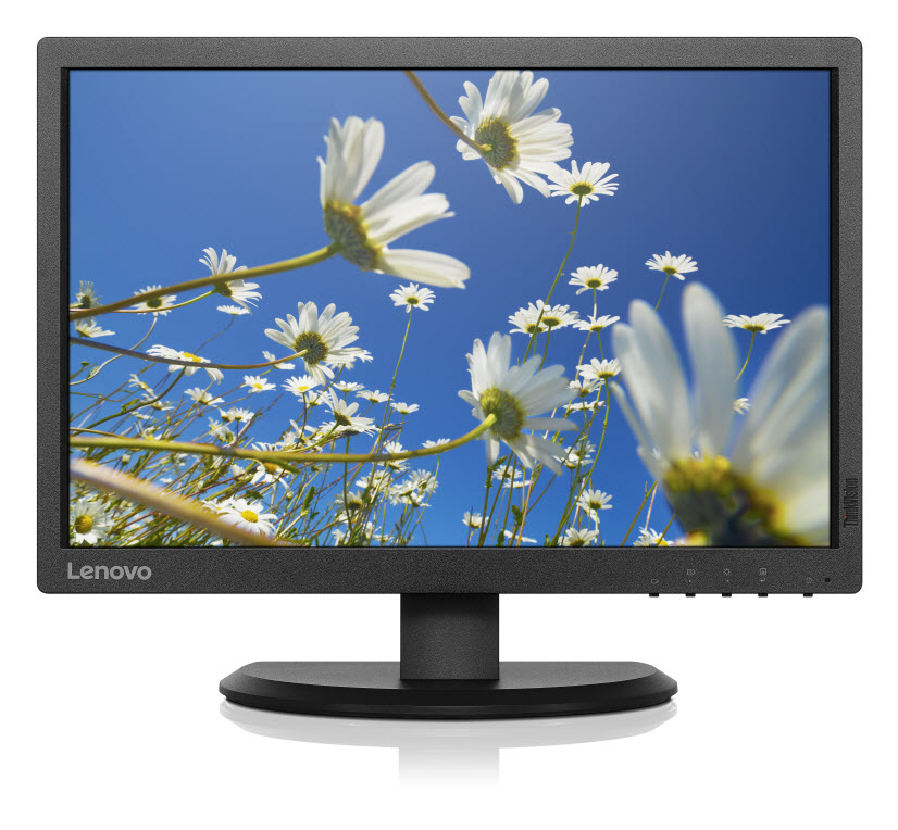 "Монитор Lenovo ThinkVision E2054 19.5"" LED IPS Чёрный, 60DFAAT1EU"