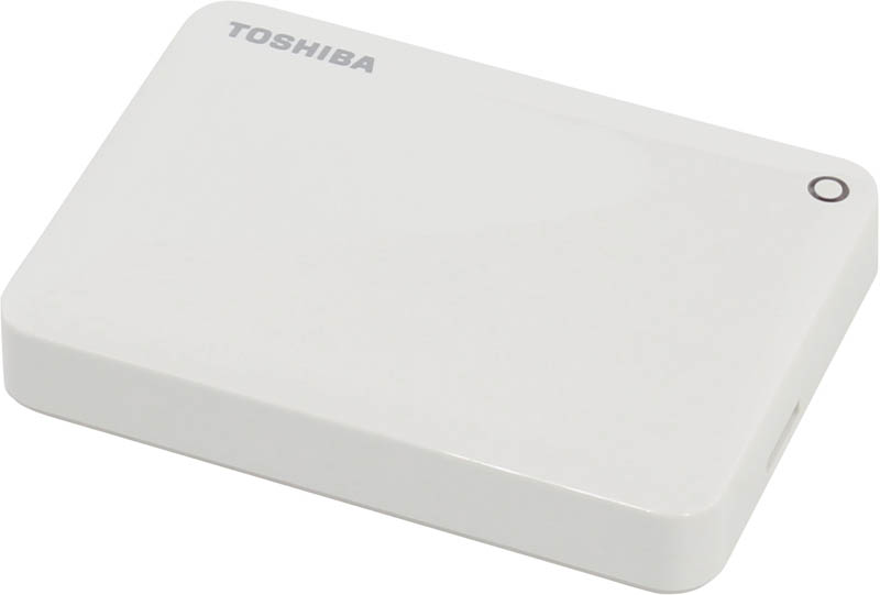 "Внешний диск HDD Toshiba Canvio Connect II 3TB 2.5"" USB 3.0 Белый, HDTC830EW3CA"