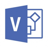 Картинка Подписка Microsoft Visio Online Plan 2 Single OLP 12 мес., R9Z-00003