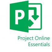 Картинка Подписка Microsoft Project Online Essentials Single OLP 12 мес., 3PP-00003
