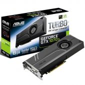 Видеокарта Asus nVidia GeForce GTX 1070Ti GDDR5 8GB, TURBO-GTX1070TI-8G
