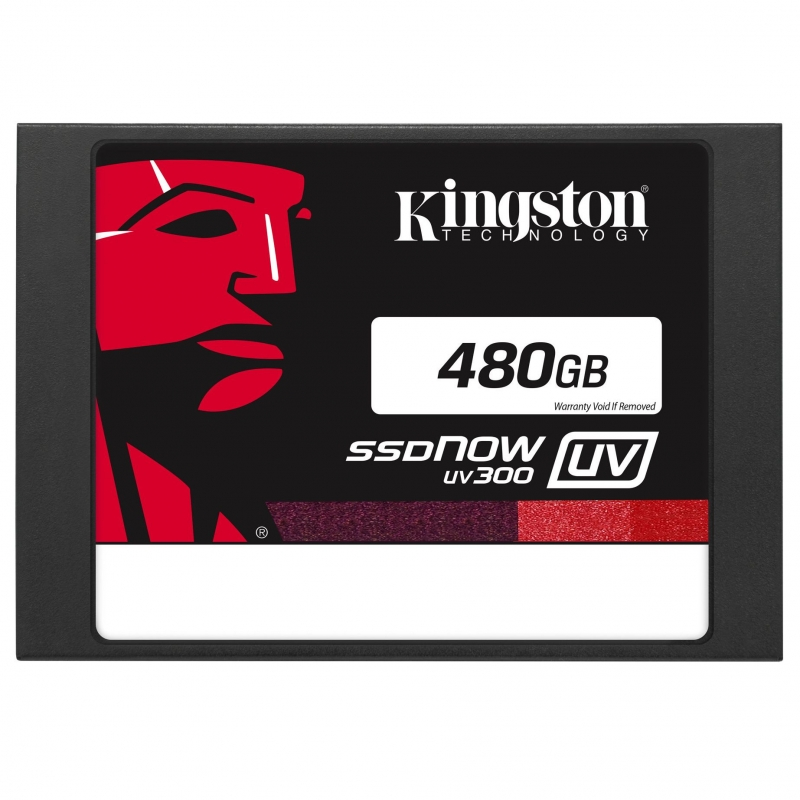 "Диск SSD Kingston SSDNow UV300 2.5"" 480GB SATA III (6Gb/s), SUV300S37A/480G"