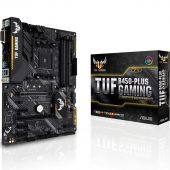 Картинка Материнская плата Asus TUF B450-PLUS GAMING ATX AMD AM4, TUF B450-PLUS GAMING