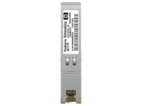 Трансивер HP Enterprise SFP 1000Base-T Витая пара, J8177C