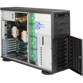 Картинка Корпус Supermicro SuperChassis 745BAC-R1K28B2 Tower 1280Вт Чёрный 4U, CSE-745BAC-R1K28B2