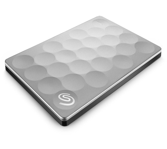 "Внешний диск HDD Seagate Backup Plus Ultra Slim 2TB 2.5"" USB 3.0 Серебристый, STEH2000200"