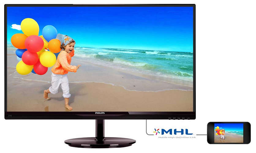 "item-slider-more-photo-Фото Монитор Philips 274E5QHSB 27"" LED IPS Чёрный глянцевый, 274E5QHSB/00 - фото 1"