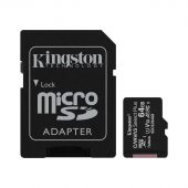 Картинка Карта памяти Kingston microSDXC UHS-I Class 1 64GB, SDCS2/64GB