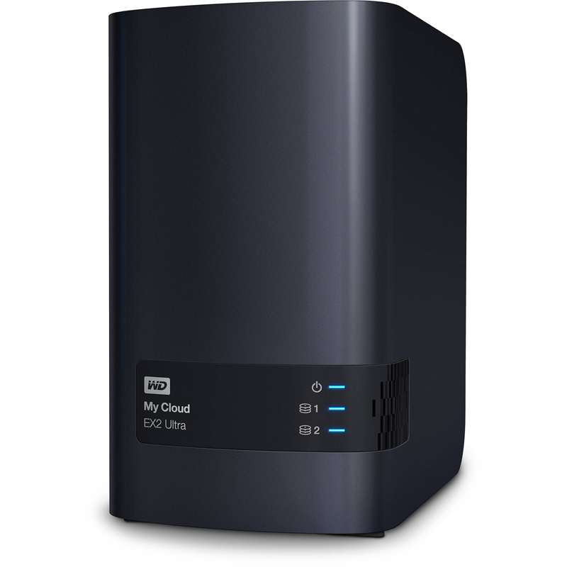 Настольная система хранения Western Digital My Cloud EX2 Ultra 2-bay, WDBSHB0120JCH-EEUE