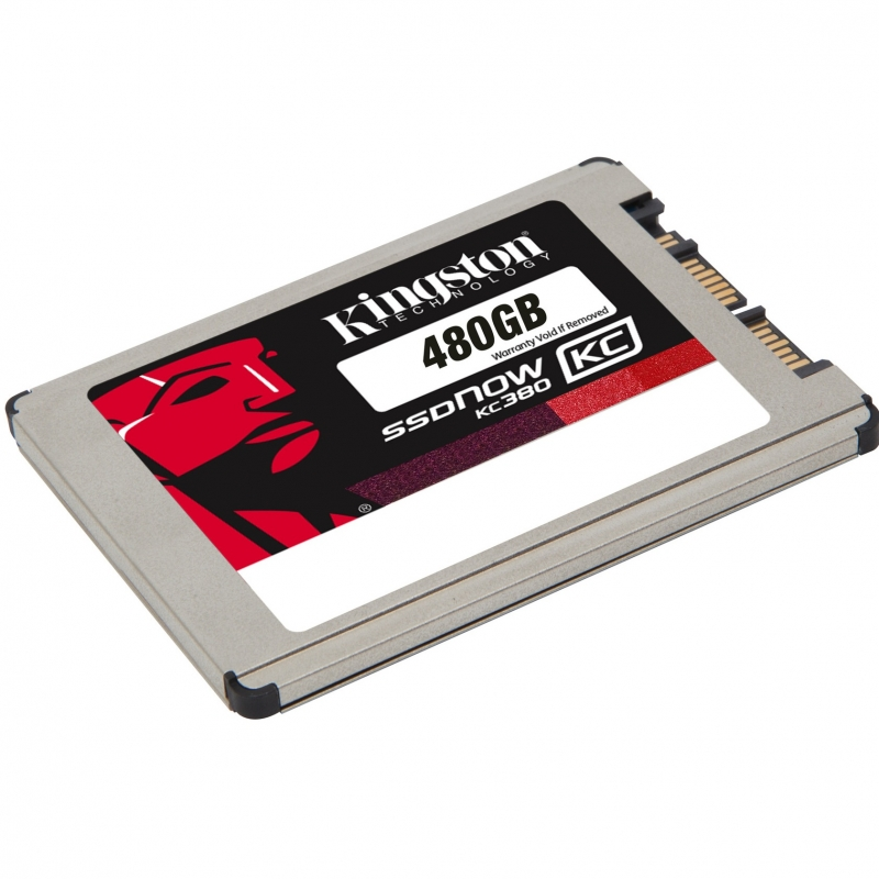"Диск SSD Kingston SSDNow KC380 1.8"" 480GB SATA III (6Gb/s), SKC380S3/480G"