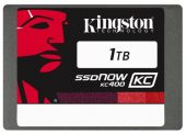 "Картинка Диск SSD Kingston SSDNow KC400 2.5"" 1TB SATA III (6Gb/s), SKC400S37/1T"