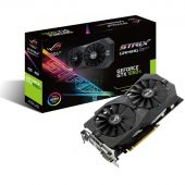 Картинка Видеокарта Asus nVidia GeForce GTX 1050Ti GDDR5 4GB, STRIX-GTX1050TI-4G-GAMING