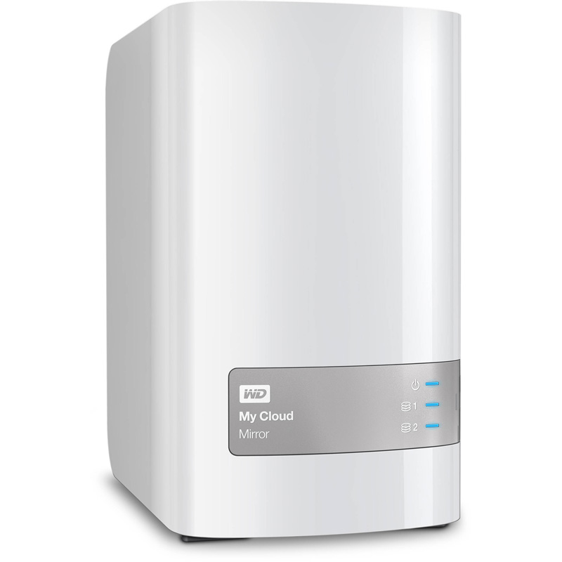 item-slider-more-photo-Фото Настольная система хранения Western Digital My Cloud Mirror 2-bay 2x4ТБ, WDBWVZ0080JWT-EESN - фото 1