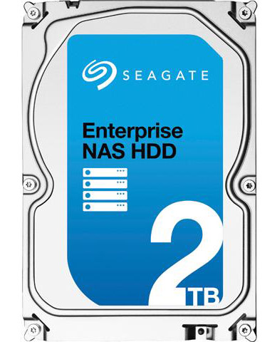 "Диск HDD Seagate Enterprise NAS SATA III (6Gb/s) 3.5"" 2TB, ST2000VN0001"