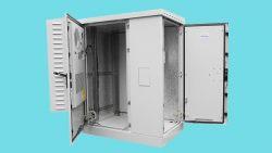 Напольный комплектный шкаф: для мест общего пользования или серверной комнаты