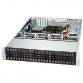 Картинка Корпус Supermicro SuperChassis 216BE1C-R920LPB Rack 920Вт Чёрный 2U, CSE-216BE1C-R920LPB