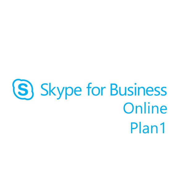 Подписка Microsoft Skype для бизнеса Online Plan1 Single OLP 12 мес., DM2-00003