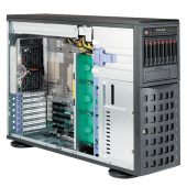"Картинка Серверная платформа Supermicro SuperServer 7048R-C1RT Rack/Tower 4U 2xLGA 2011v3 16x3.5""+ 2.5"", SYS-"