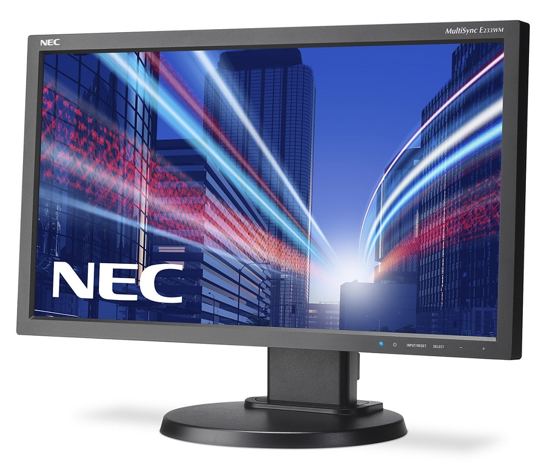"Монитор NEC E233WM-BK 23"" LED TN Чёрный, E233WM-BK"