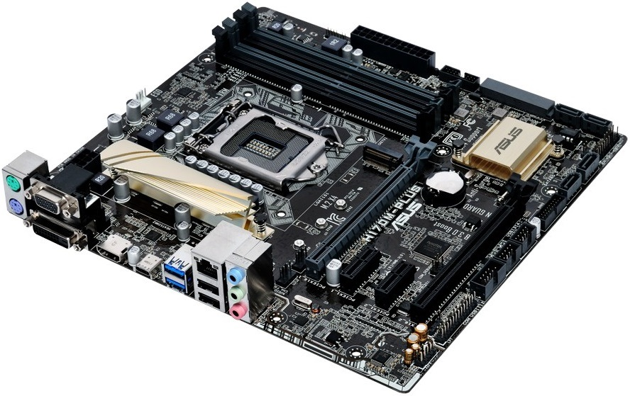 item-slider-more-photo-Фото Материнская плата Asus H170M-PLUS mATX LGA 1151, H170M-PLUS - фото 1