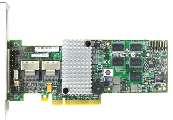 RAID-контроллер Intel RS2BL080 SAS-2 6 Гб/с LP, RS2BL080