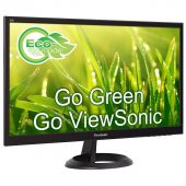 "Картинка Монитор Viewsonic VA2261-6 21.5"" TN Чёрный, VA2261-6"