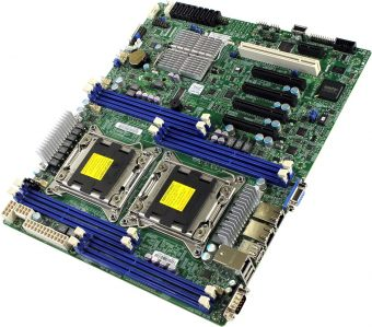 Материнская плата Supermicro X9DRL-iF ATX LGA 2011 DIMM DDR3 MBD-X9DRL-IF-B