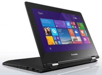 "Ноутбук-трансформер Lenovo Ideapad Yoga 300-11IBR 11.6"" 1366x768 (WXGA) Intel Celeron N3060 2 ГБ HDD 500GB Intel HD Graphics TouchScreen, 80M100J8RK - фото 1"