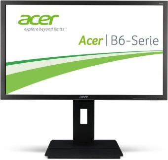 "Монитор Acer - B226HQLAymdr, 21.5"", 16:9, LED, VA, 8ms, 250cd/m², 1920x1080 (Full HD), 75Hz, VGA, 1x DVI, HAS, pivot, speakers, цвет Серый, UM.WB6EE.A01"