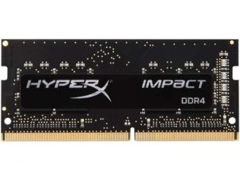 Модуль памяти Kingston HyperX Impact 8ГБ SODIMM DDR4 non ECC 2133МГц CL13 1.2В HX421S13IB/8