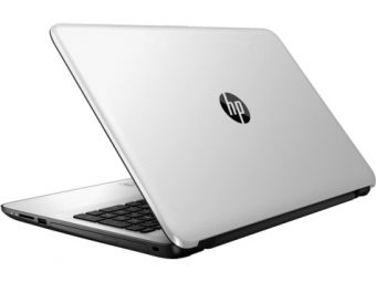 "Ноутбук HP 15-ay511ur - 15.6"", 1366x768 (WXGA), Intel Pentium N3710 1600MHz, SODIMM DDR3L 4GB, HDD 500GB, Intel HD Graphics, Bluetooth, Wi-Fi, noDVD, 4cell, Белый, Windows 10 Home 64, Y6F65EA - фото 1"