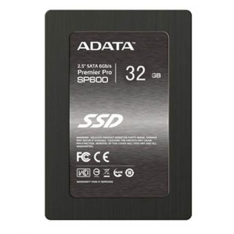 "Диск SSD ADATA - SP600, for Mobile, 2.5"", 32GB, SATA III (6Gb/s), speed write-37MB/s read-220MB/s, MLC, JMicron JMF661/JMF667H, ASP600S3-32GM-C"