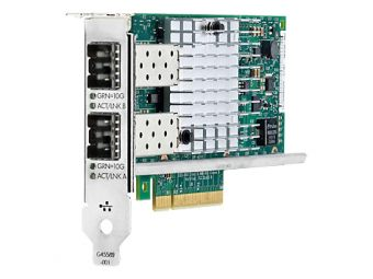 Сетевая карта HP Enterprise - 560SFP+, 10 Гб/с, SFP+, 2-port, PCI Express x8, 665249-B21