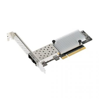 Сетевая карта Asus - PEI-10G/82599-2S, 10 Гб/с, SFP+, 2-port, PCI Express x8, low profile, PEI-10G/82599-2S - фото 1