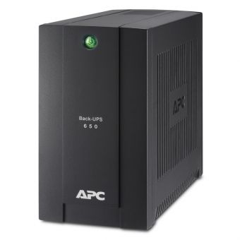 Фото ИБП APC by Schneider Electric Back-UPS 650VA, Tower, BC650-RSX761 - фото 1