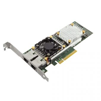 Сетевая карта Dell - Broadcom 57810, 10 Гб/с, RJ-45, 2-port, PCI Express x8, low profile, 540-11152