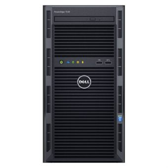 "Сервер Dell PowerEdge T130 ( 1xIntel Xeon E3 1220v5 1x8ГБ  3.5"" 1x1TB ) 210-AFFS-4 - фото 1"