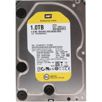 "Диск HDD  Western Digital - Re, for Datacenter, SATA III (6Gb/s), 3.5"", 1TB, 7K, 128MB, WD1004FBYZ"
