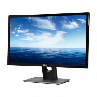 "Монитор Dell - E1916H, 18.5"", 16:9, LED, TN, 5ms, 200cd/m², 600:1, 1366x768 (WXGA), 60Hz, VGA, 1x DP, цвет Чёрный, 916H-1972"