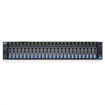 Сервер Dell - PowerEdge R730xd, 24xSFF, PERC H730, 4x1GbE, noDVD, 1x750W, Rack, 2U, 210-ADBC-91 - фото 1