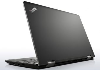 "Ноутбук-трансформер Lenovo ThinkPad Yoga 15 - 15.6"", 1920x1080 (Full HD), Intel Core i5 5200U 2200MHz, SODIMM DDR3L 8GB, SSD 256GB, nVidia GeForce GT 840M DDR3 2GB, Bluetooth, Wi-Fi, TouchScreen, noDVD, 4cell, Чёрный, Windows 8.1 Single Language 64, 20DQ001NRT - фото 1"