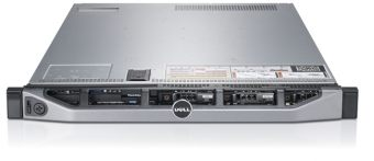 "Сервер Dell PowerEdge R620 ( 2xIntel Xeon E5 2650v2 24x16ГБ  2.5"" 2x300GB ) 210-ABMW-81"