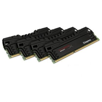 Комплект памяти Kingston - HyperX Beast, 16GB, DIMM DDR3, non ECC, 1866MHz, CL9, 1.5В, (4х4ГБ), HX318C9T3K4/16