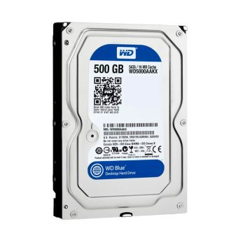 "Диск HDD Western Digital SATA III (6Gb/s) 3.5"" Blue 7K 16MB 500GB WD5000AAKX"